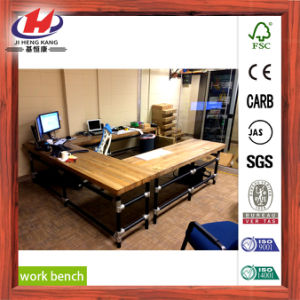 Furniture Laminate Wooden Board Work Table pictures & photos