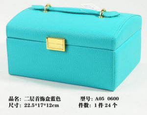 Fashion Leather Lady Dressing Case pictures & photos