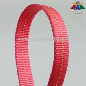 20mm High Quality Red Nylon Webbing for Pet Products pictures & photos