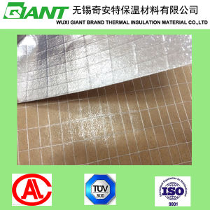 Fireproof Insulation, Heat Sealing Aluminum Foil Facing on Rock Wool, Glass Wool, Mineral Wool for Duct Wrap Material pictures & photos