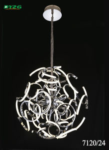 Modern Hotel Decorative Aluminium Chandeliers/Pendant Lamp Byzg 7120-24