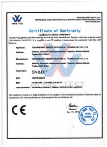 Snat 50A 100A Solar Charge Controller for High Voltage Solar Power System pictures & photos