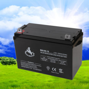 12V 100ah VRLA Mf Lead Acid Rechargeable Battery for UPS/Solar pictures & photos