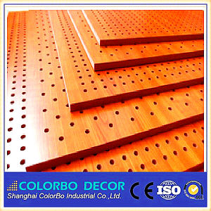 Sound Reduction MDF Interior Decorative Wall Panel pictures & photos