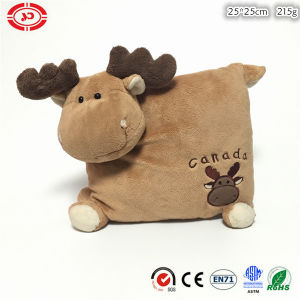 Moose with Foot Cute Plush Soft Stuffed Kids Xmas Pillow pictures & photos