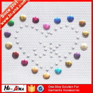 Custom Made Print Logo Various Colors Rhinestone Hotfix Transfer pictures & photos