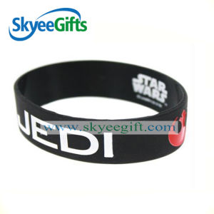Best Price Custom Lucky Silicone Wristband for Peace pictures & photos