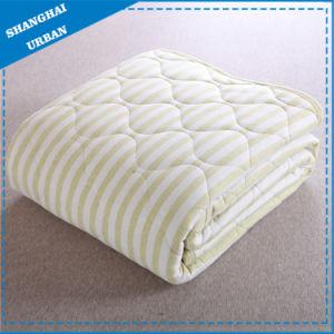 Single Cotton Bedding Quilt Stripe Blanket pictures & photos