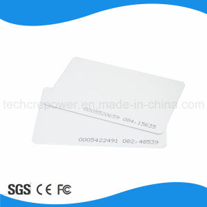 Blank PVC Proximity RFID 125kHz Card pictures & photos