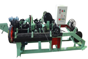 Reverse Twisted Barbed Wire Making Machine pictures & photos