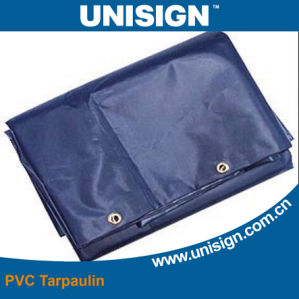 UV Protection PVC Truck Cover Tarpaulin with Eyelets pictures & photos