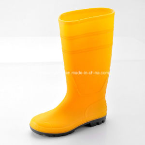 Wellington Safety Rain Boots, Slip Resistant Rain Boots Women W-6036 pictures & photos
