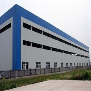 EPS Sandwich Wall Panel Steel Structure for Workshop pictures & photos