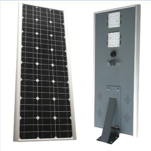 China Manufacturer Integrated LED Solar Street Light with Motion Sensor pictures & photos