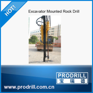 Prodrill Excavator Mounted Pd-Y90 Rock Drill Machine pictures & photos