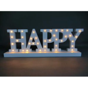 LED Christmas Decorative Lights Made of MDF pictures & photos