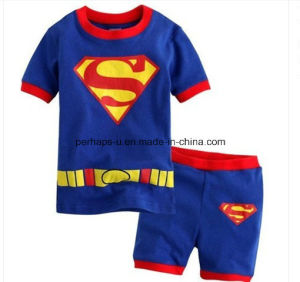 High Quality Superman Printed Baby Boys T-Shirt Children Wear pictures & photos