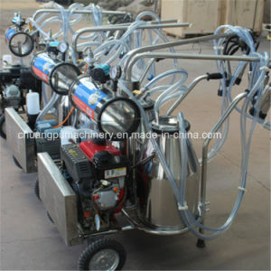 Diesel Engine Portable Milking Machine for Goats pictures & photos