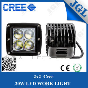 20W 4D Optic Lens Cube CREE LED Work Light