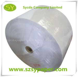 in Stock Thermal Paper Jumbo Roll 48GSM pictures & photos