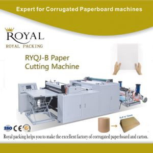 Paper Roll to Sheet Cutting Machine pictures & photos