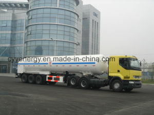 Cyy Liquid Oxygen Nitrogen Argon Cabochon Dioxide Cryogenic Tank Truck pictures & photos