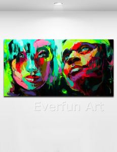 Handmade Oil Painting Pop Art (KVP-114) pictures & photos