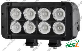 7.5inch 80W CREE IP68 LED Work Light Bar, Double Row Offroad Light Bar pictures & photos