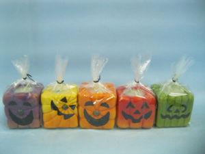 Halloween Candle Shape Ceramic Crafts (LOE2372E-5z)