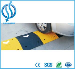 Rubber 75mm Height Arrow Speed Hump Roadway Safety pictures & photos