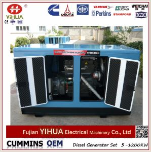 Weifang Ricardo Single/Three Phase Electric Silent Power Diesel Generator Set (10-250kw) pictures & photos