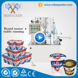 Automatic Liquid Cup Sealing Machine for Water with Ce pictures & photos