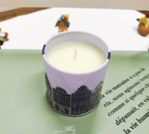 Scented Soy Printed Tin Candle with Lid pictures & photos