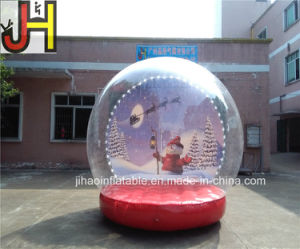 Custom Dia=3m Inflatable Snow Globe for Sale pictures & photos