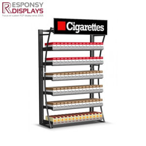 Factory Price Metal Tube Laser Cutting Machine Cigarette Display Cabinet pictures & photos