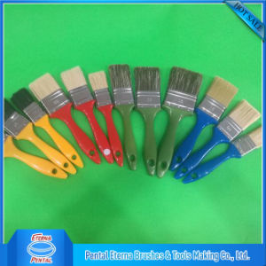 Black Filaments Mix Bristle with Yellow Handle Best Paint Brushes pictures & photos