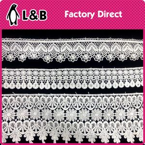 Manufacture Chemical New Design Embroidery Lace for Sale pictures & photos