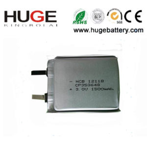3V Ultra Thin Lithium Battery CP353648 pictures & photos