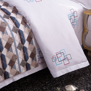 Comfortable Luxury Hotel Printed Cotton Bedsheets pictures & photos