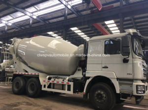 Shacman 3 Axles Cement Mixer Truck 10 Cubic Meter Concrete Delivery Truck pictures & photos