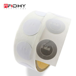 MIFARE Passive Adhesive RFID Label Sticker Roll Tags for Printer pictures & photos