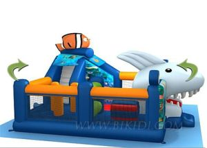 Inflatable Toys, Finding Nemo Combo Bouncer, Moonwalks (B3030) pictures & photos