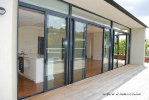 Low Step Sills Sliding Aluminium Balcony Doors pictures & photos