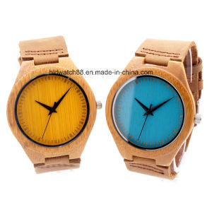 Hand Made Wooden Couple Watch Wood for Lovers Japan Movement pictures & photos