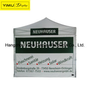 Customed Pringted Your Logo Folding Tent with Aluminum Pole pictures & photos