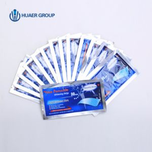 EU Standard Teeth Whitening Strips and Whitening Pen Home Kit pictures & photos