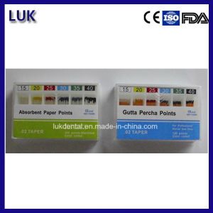 Hot Sale and High Quality 06 Dental Absorbent Paper Points pictures & photos