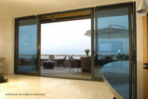 Patio Balcony Sliding Doors with 6mm Tempered Glass pictures & photos