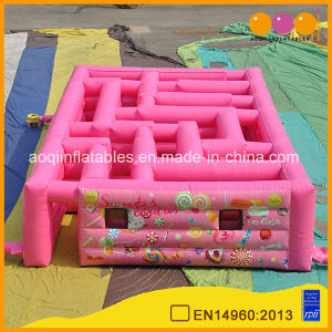 Candy Maze Inflatable Labyrinth for Sports Game (AQ16133-9) pictures & photos