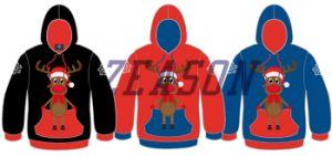 Custom Made Sportswear Men′s Fleece Hoody Pocket Jacket, Red Zip up Hoodie pictures & photos